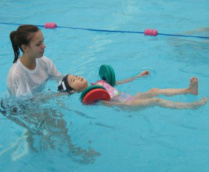 Surrey Swim School lesson